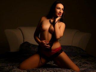 AriaAspen shows naked